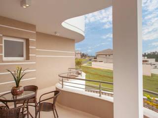 Casa Alphaville Piracicaba Casas modernas por Designer de Interiores e Paisagista Iara Kílaris Moderno
