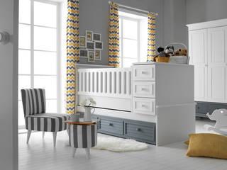 Bbutik Mobilya – Oslo Bebek Odası: modern tarz , Modern
