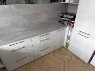 Home Office Design by PTC Kitchens Phòng học/văn phòng phong cách hiện đại bởi PTC Kitchens Hiện đại