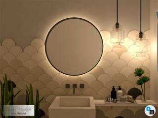 Lavabo: Banheiros  por Camila Machado Arquitetura e Interiores,Moderno