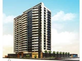 Prédio Residêncial Barro Vermelho - Vitória - ES Mazzini Construtora e Incorporadora por Carlos Eduardo de Lacerda Arquitetura e Planejamento Moderno
