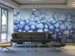 Aquacolors / Moretti A&D Offices & stores Tiles Blue