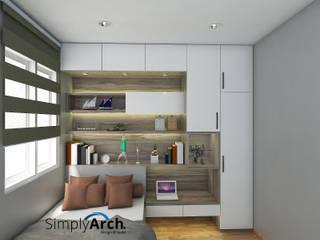 Dormitorios de estilo minimalista de Simply Arch. Minimalista
