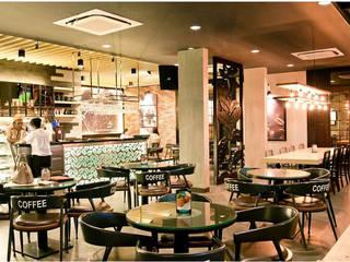 Excelso Cafe Surabaya:industri  oleh PT. Evata Furniture, Industrial