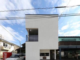 仙台のハコノオウチ 石川淳建築設計事務所 木造住宅 白色