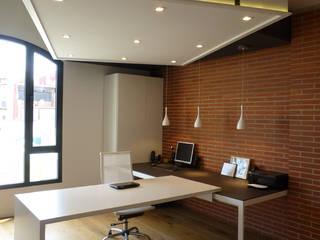 Loft Sucre A2: Estudios y despachos de estilo  de ESTUDIO DE CREACIÓN JOSEP CANO, S.L.,