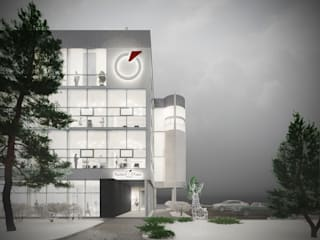 Houses by Архитектурная мастерская 'ПИН и К'