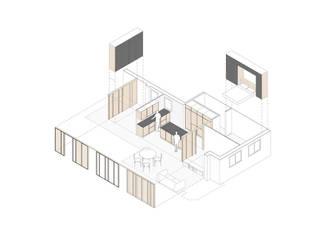 Reforma de un piso de 85m2 en Barcelona AlbertBrito Arquitectura
