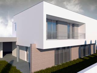 Casa de Valongo: Casas  por FR Arquitetura e Engenharia,Moderno