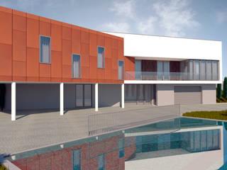 Casa Top: Casas  por FR Arquitetura e Engenharia,Moderno
