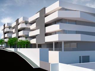 Edificio Sameiro: Casas  por FR Arquitetura e Engenharia,Moderno