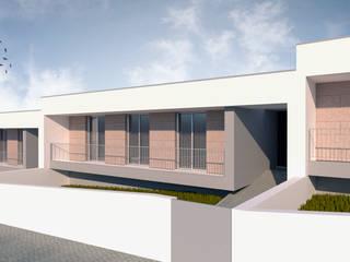 Casas em Banda: Casas  por FR Arquitetura e Engenharia,Moderno