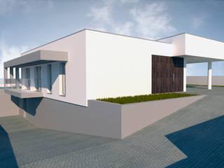 Casa Vê: Casas  por FR Arquitetura e Engenharia,Moderno