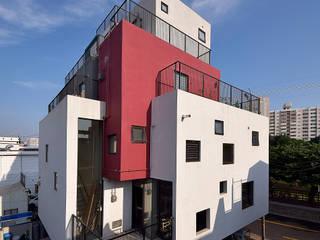 VIEWBOX-부산다운건축상 은상: 아익 건축의  주택