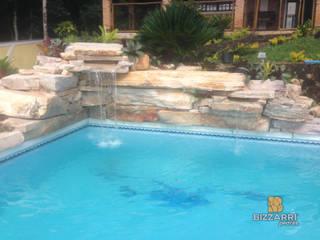 Garden Pool by Bizzarri Pedras,
