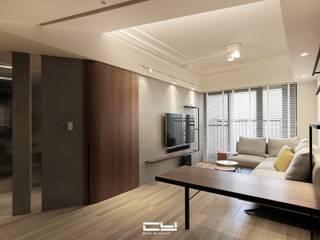 台南永康黃宅 - 輕工業風住宅 根據 臣月空間工程 工業風
