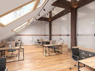Locaux commerciaux & Magasin modernes par Klausroom Moderne