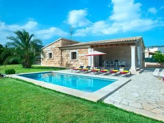 Casas unifamiliares de estilo  por Diego Cuttone, arquitectos en Mallorca