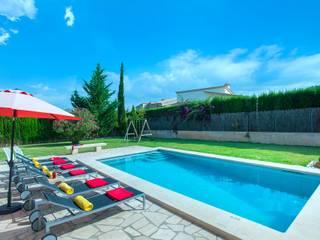 Albercas de jardín de estilo  por Diego Cuttone, arquitectos en Mallorca