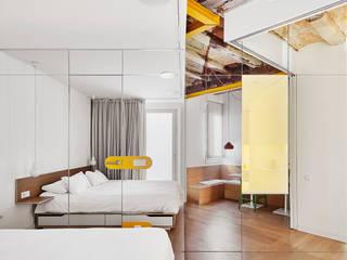 PISO PARLAMENT 19 Dormitorios de estilo moderno de Miel Arquitectos Moderno