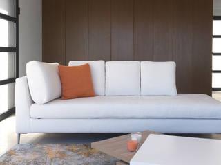 Villa Eze Salon minimaliste par Deux et un Minimaliste