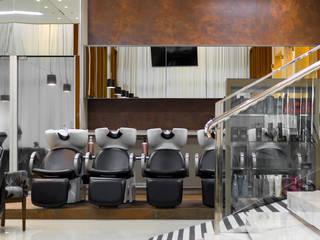 ESMALTERIA - SALÃO DE BELEZA: Espaços comerciais  por Archibox Arquitetura