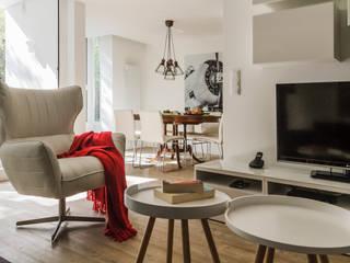 ARQ1to1 - Arquitectura, Interiores e Decoração Salon moderne