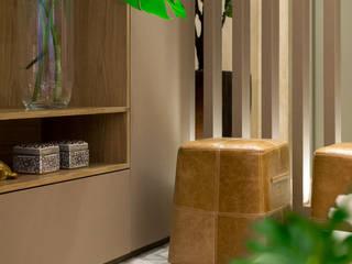 APTO SP - 180.00 m²: Salas de estar  por Archibox Arquitetura