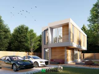 MODERN JAPANESE:  บ้านสำหรับครอบครัว by The OnGround บริษัทรับสร้างบ้านสไตล์ Modern Japanese