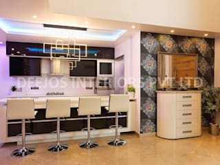 Luxury Interior & Exterior By DEEJOS: modern  by DEEJOS Interiors Pvt Ltd,Modern