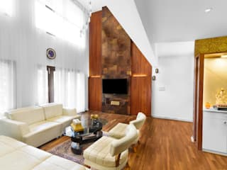 RESIDENTIAL PROJECT 1 Modern living room by Art Home Production Modern