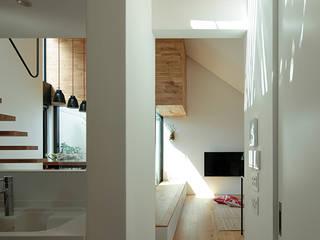 ミドリとソラにつつまれた家: 株式会社Fit建築設計事務所が手掛けたキッチンです。,オリジナル