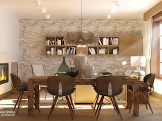 Dining room by Ludwinowska Studio Architektury