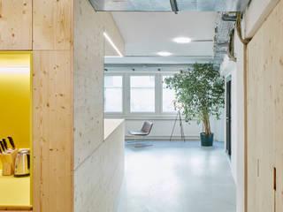 Brains and Bodies Coworking und Sport:  Bürogebäude von cy architecture