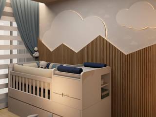Quarto de bebê menino: Quartos de bebê  por Espaço Arquitetural | Arquitetos em Natal