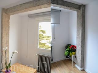 Proyecto, diseño y reforma de vivienda unifamiliar en Burgos: Salones de estilo  de Cimbra47