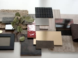 Retaildesign / Ladenbau Entwurf - Moodboard, Sketches and Plans:   von Alana Flick Interiors - Innenarchitektur Hamburg