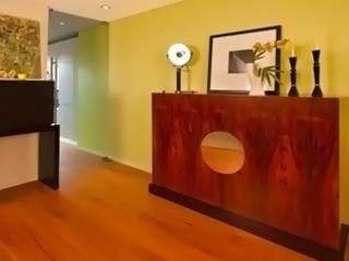 Modern corridor, hallway & stairs by Barbot Modern