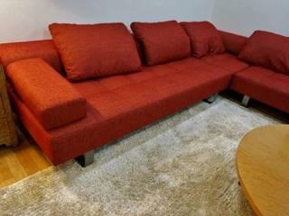 (株)工房スタンリーズ Living roomSofas & armchairs Red