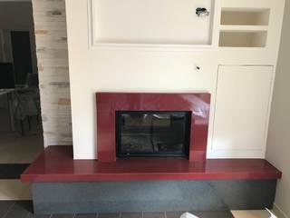Arena Marmi srl Living room Stone Red