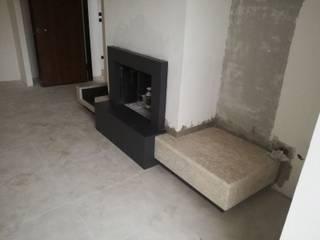 Arena Marmi srl Living room Stone Black