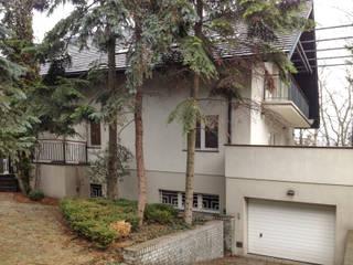 Przebudowa domu w Warszawie: styl , w kategorii Dom jednorodzinny zaprojektowany przez KJ Architekci,