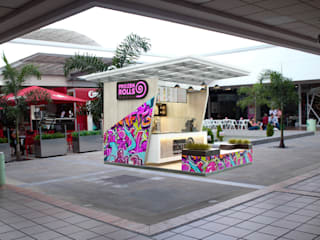 stand de helados Frozen rolls / Ibagué - Tolima Taller 3M Arquitectura & Construcción