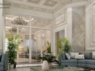 Salon classique par KOSOUR INTERIORS Classique