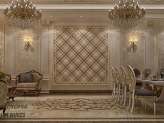 تصميم صالة ضيوف بدولة الكويت :  منزل عائلي كبير تنفيذ KOSOUR INTERIORS