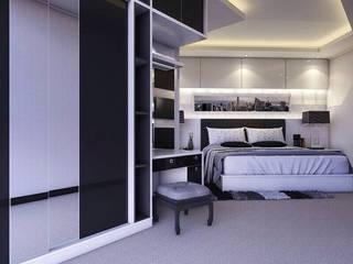 Apartemen Gading Mediterania Jakarta Kamar Tidur Minimalis Oleh Maxx Details Minimalis
