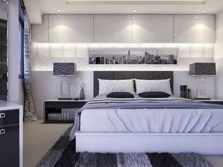 Apartemen Gading Mediterania Jakarta Oleh Maxx Details Minimalis