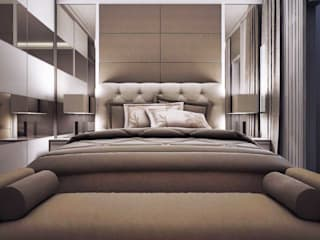 Master bedroom Kamar Tidur Minimalis Oleh Maxx Details Minimalis