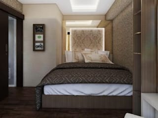 Apartemen The Jarrdin Bandung Kamar Tidur Modern Oleh Maxx Details Modern