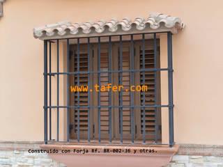 Rejas para Ventanas Prefabricados Metálicos Tafer Puertas y ventanas de estilo moderno